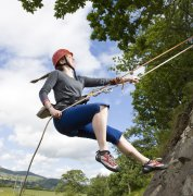 Abseiling with Bala Adventure & Watersports