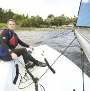 Sailing on Bala Lake