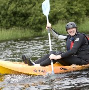 Kayaking on Bala Lake