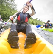 Sit on Top Kayaks on Bala Lake