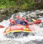 Whitewater Rafting with Bala Adventure & Watersports